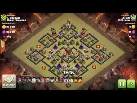 [1001 Crew vs Harry Seaward] [TH9 Three Stars]