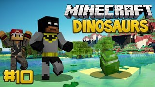 Minecraft Dinosaurs Mod (Fossils and Archaeology) Survival Series, Episode 10 - Mosasauros Fail...