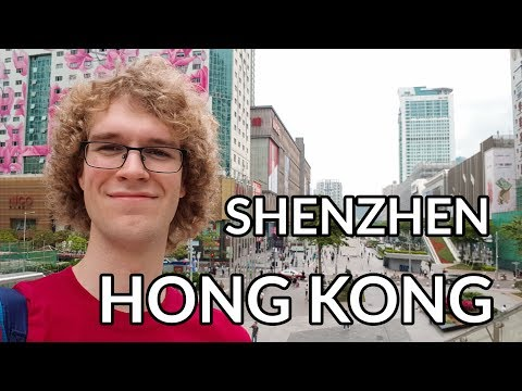 Travel Video to Shenzhen, Guangdong, Hong Kong in China (2018)