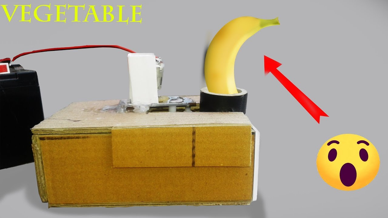 How To Make Vegetable Cutter Machine At Home With New Ideas Youtube