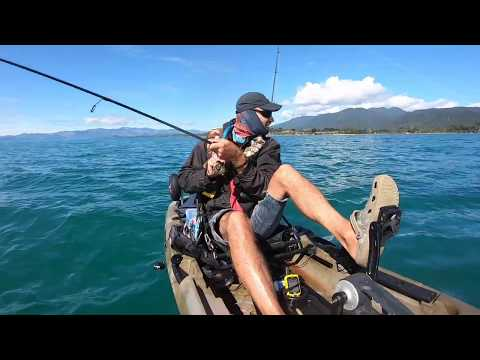 Kayak Fishing: Siren 10.5 Pedal Kayak In Action