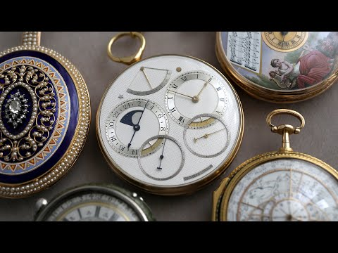 Timepieces From The Greatest Watchmakers In History