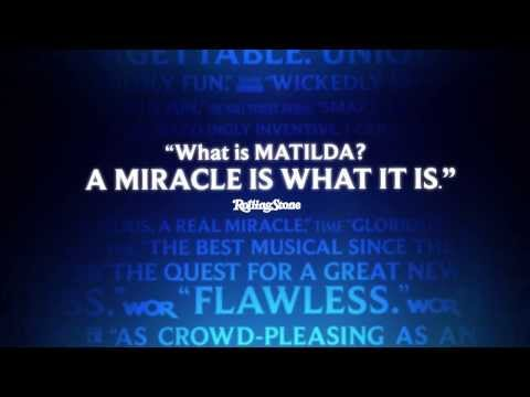 Matilda Broadway: Time Magazine's #1 show of the year!