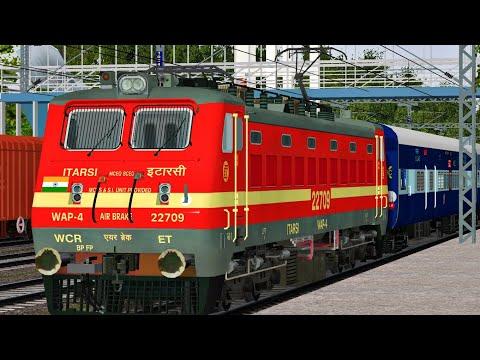 Mumbai CSM Terminus - Nagpur Sewagram Superfast Express | MSTS Open Rails | Indiian Train Simulator
