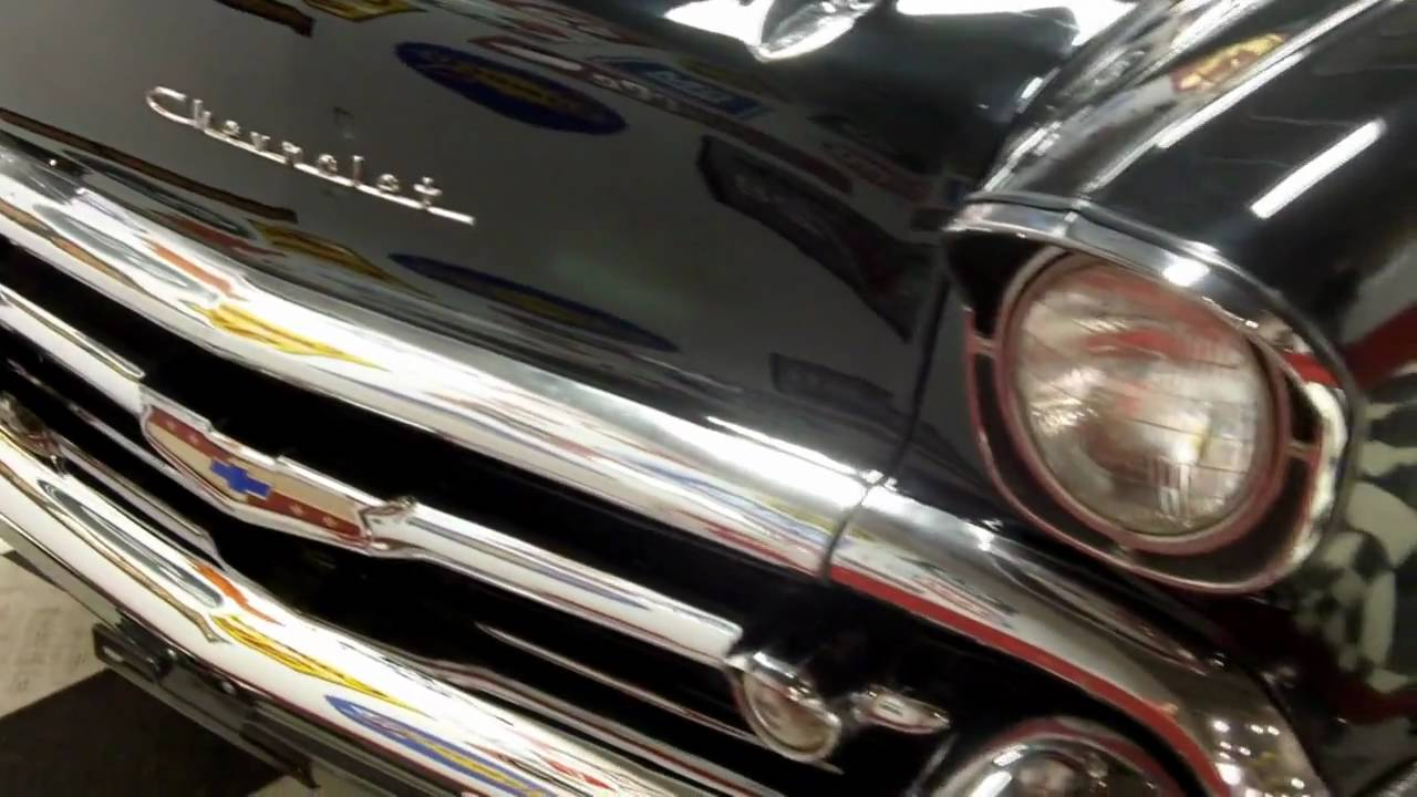1957 chevy bel air 502 classic muscle car for sale in mi for Vanguard motors for sale