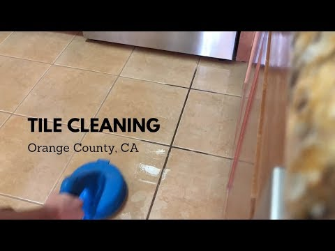How to Clean Tile & Grout Professionally: Tile Cleaning Orange County CA