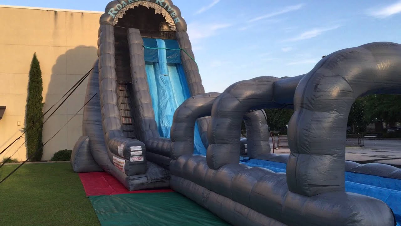 Water slide rentals navarre fort walton beach crestview gulf breeze - 27 Roaring River Water Slide Rental Fun 4 All Inflatables