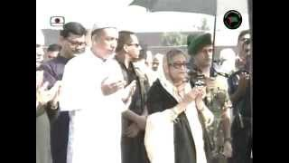 PM Sheikh Hasina Paid Homage to Late ABM Abul Kashem
