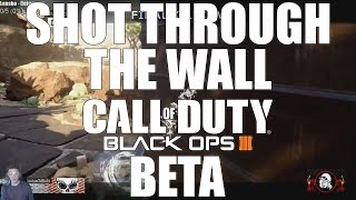 Shot Through The Wall (Black Ops 3 Multiplayer Beta)