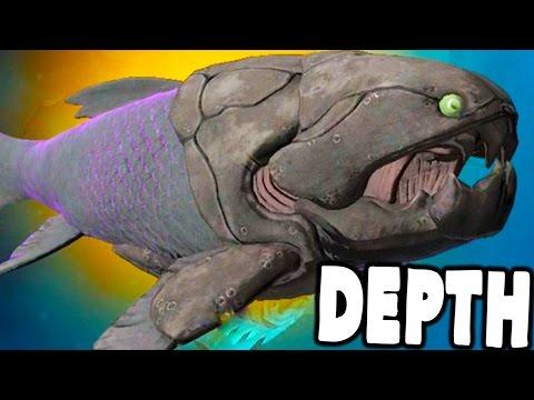 Depth - NEW DUNKLEOSTEUS DESTROYS ALL DIVERS! - Depth Update Gameplay