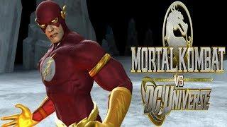 Mortal Kombat Vs DC Universe - The Flash Playthrough - Very Hard (MKVSDC Universe)
