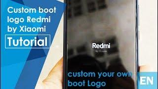 Custom boot logo | Redmi by Xiaomi | Redmi 5 Plus - Eng