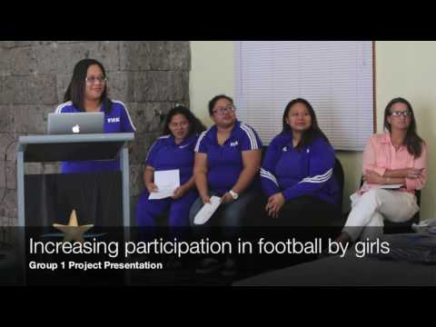FIFA Women's Football Administration Course with Heather Reid