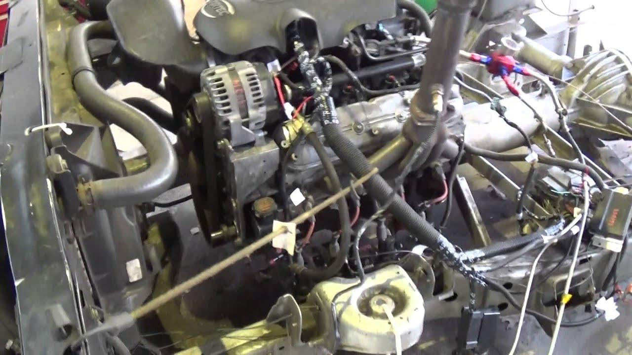 Danny Fendley LQ4 6 0 LS Engine W/ 5 3 Heads & Stage 2 Cam