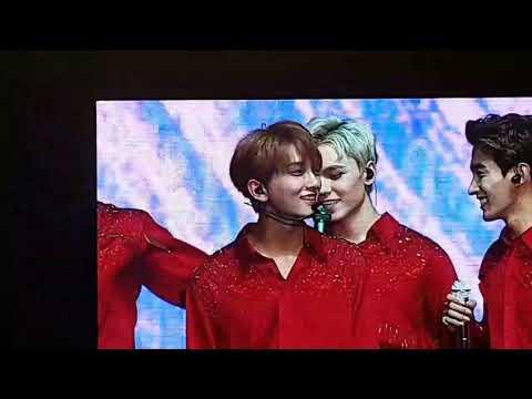 170923 Seventeen Diamond Edge Jakarta - Joshua, Scoups, Woozi & Seungkwan sexy dance