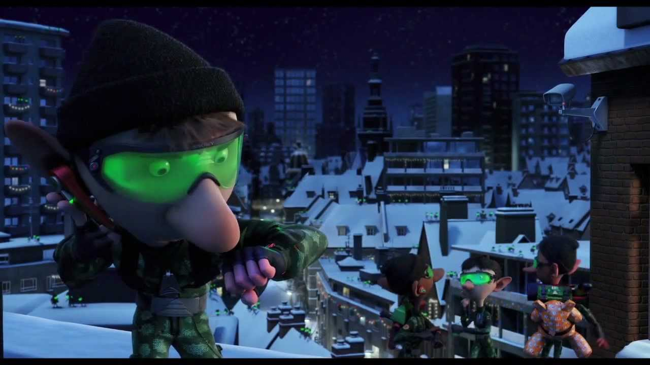 ARTHUR CHRISTMAS Film Clip , \u0027Elf Delivery\u0027