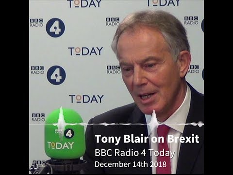 Tony Blair on #Brexit