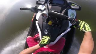 A ride on the World's Fastest Seadoo - CRT Nightmare