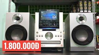 Sony NAS M70HD || Dàn âm thanh bãi mini tích hợp nhiều công nghệ điện 100v |