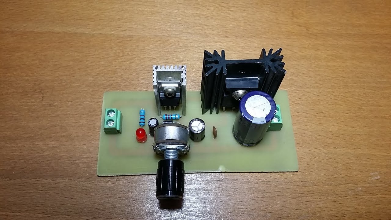 Simple Variable Power Supply Using L4960