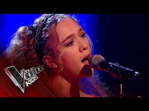 Gina performs 'I Put A Spell On You': Blinds 4 | The Voice Kids UK 2017