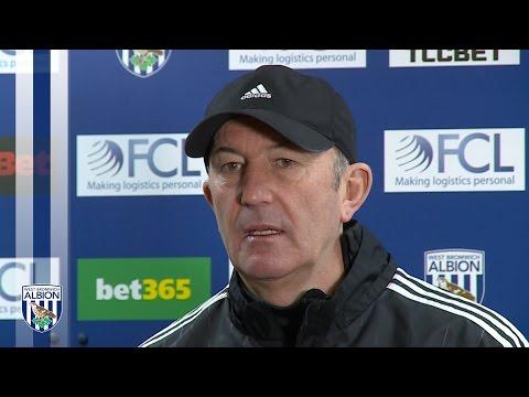 PRESS CONFERENCE: Tony Pulis previews Albion's Premier League trip to Everton
