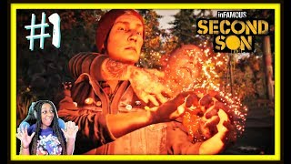 LET ME HELP!! | Infamous Second Son Episode 1 Gameplay!!