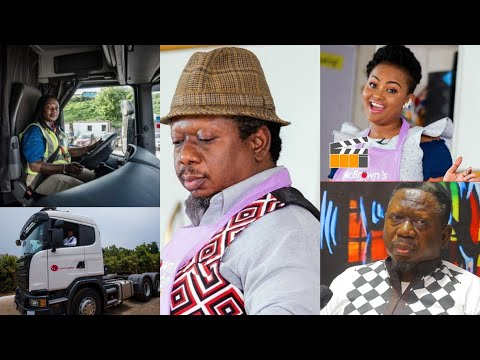 People were happy I had stroke,How Mcbrown used to Drive a Truck from Ghana - Ivory Coast will Shöck