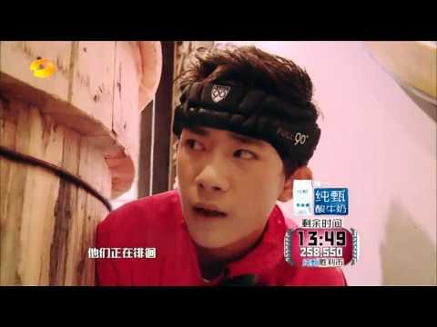 [Run For Time - Hunan TV Ep 7 20151218 cut]TFBOYS và nhiệm vụ lấy hai quyển trục trong mê cung