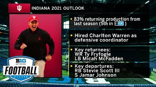 Hoosiers Look to Build on 2020 Success   2021 Big Ten Football Media Days