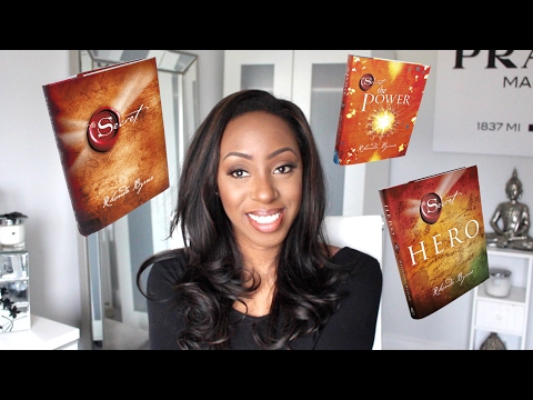 Law of Attraction | My Favourite Books - The Secret, The Power & Hero