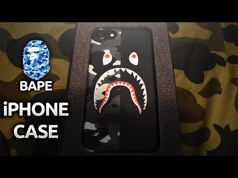 Glow in the Dark City Camo BAPE iphone Case 100% Authentic @pondon