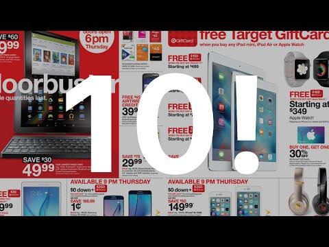 Top 10 Apple Black Friday Deals! (2015)