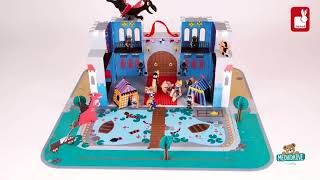 Stavebnice pro děti Rytířský hrad Cardboard Worlds