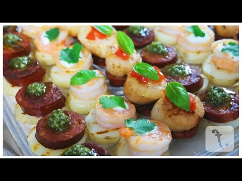 Simple Canapés | FoodPoint