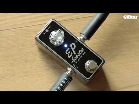 Xotic EP Booster guitar effects pedal demo