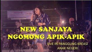 NGOMONG APIK APIK - NEW SANJAYA SUMENEP LIVE IN PANGGUNG KREASI ANAK NEGERI