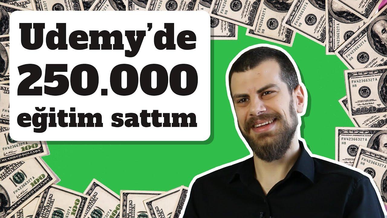 Udemy'de Nasıl 140.000 Eğitim Sattım? - Udemy Başarı Hikayesi | Atıl Samancıoğlu