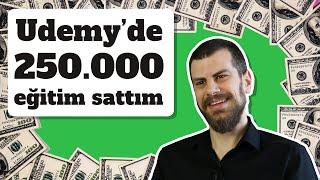 Udemy'de Nasıl 140.000 Eğitim Sattım? - Udemy Başarı Hikayesi   Atıl Samancıoğlu