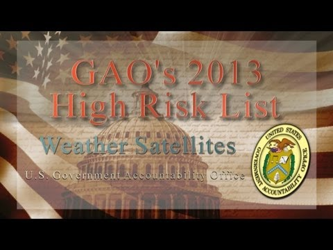 GAO: High Risk: Weather Satellites