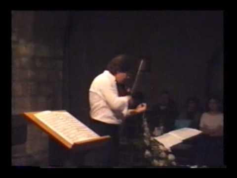 NESTOR EIDLER - Chacona de Bach ( parte 1 )