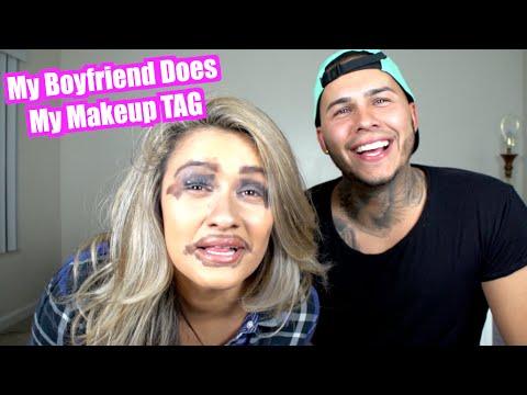 My Boyfriend Does My Makeup Tag