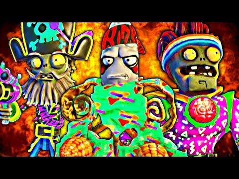 Plants vs. Zombies: Garden Warfare 2 - Party Characters OP?