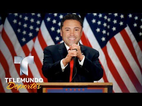 Óscar de la Hoya, ¿presidente de Estados Unidos? | Boxeo Telemundo | Telemundo Deportes