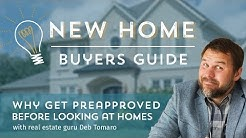 Why Get Mortgage Preapproval BEFORE looking at homes?