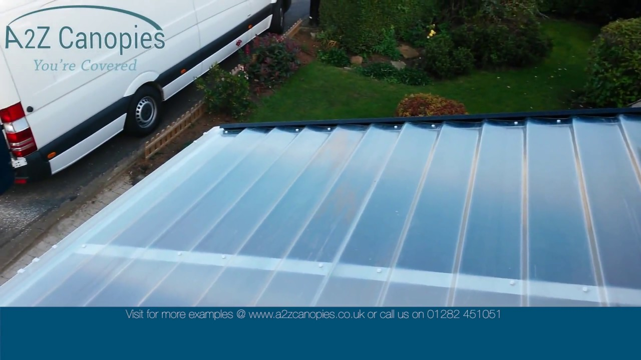 a2z canopies white carport installation & a2z canopies white carport installation - YouTube