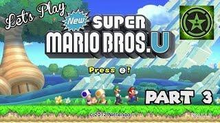 Let's Play – New Super Mario Bros. U Wii U Part 3