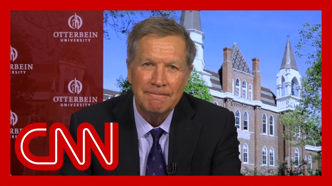 John Kasich on Americans' hardships: It makes you want to cry