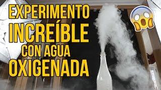 Experimento increíble con agua oxigenada (MUY POTENTE)