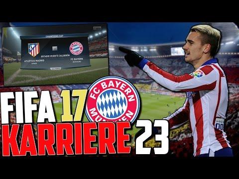 SPANNUNG PUR !! 😵 CL HALBFINALE 😈😈 | FIFA 17 Karrieremodus Fc Bayern (Deutsch) #23